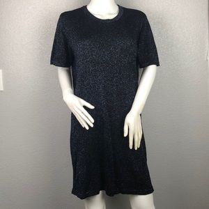Volcom Sparkly Sweater Dress Size Large 10